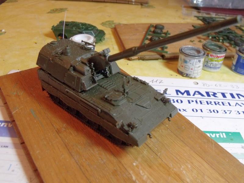 """REVELL 1/72 SLT50-3 """" ELEFANT """" ET Sa aNH.52 T , avec le Panzerhaubitze 2000 et le Fennek dans la même boite - Page 2 Dscf1427"""