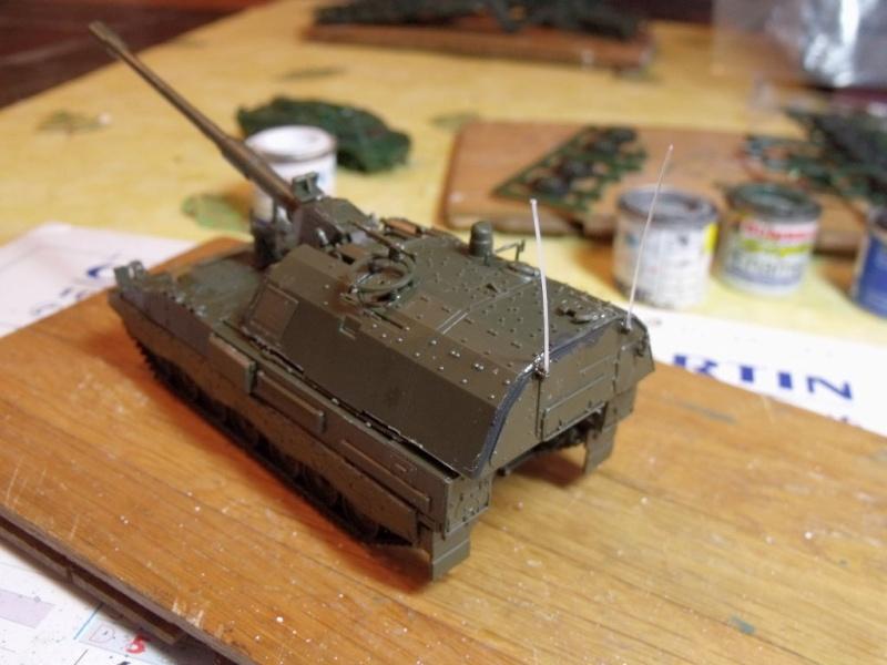 """REVELL 1/72 SLT50-3 """" ELEFANT """" ET Sa aNH.52 T , avec le Panzerhaubitze 2000 et le Fennek dans la même boite - Page 2 Dscf1428"""