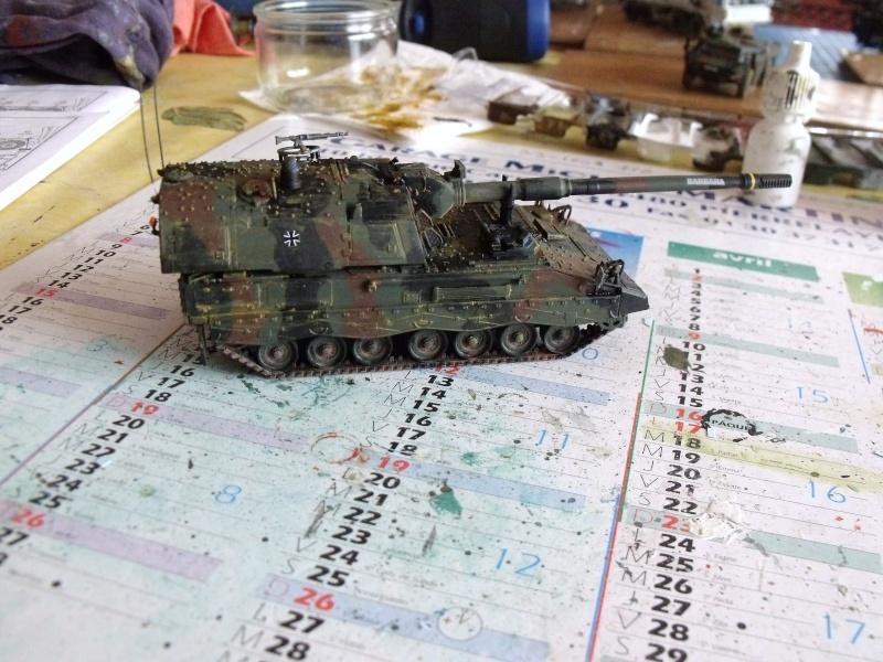 """SLT50-3 """" ELEFANT """" ET Sa aNH.52 T , avec le Panzerhaubitze 2000 et le Fennek REVELL 1/72 - Page 2 Dscf1613"""