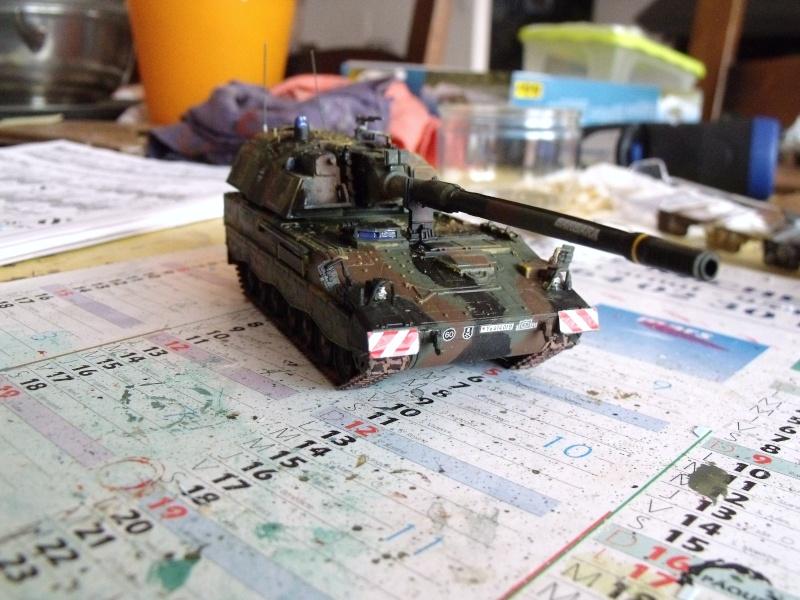 """SLT50-3 """" ELEFANT """" ET Sa aNH.52 T , avec le Panzerhaubitze 2000 et le Fennek REVELL 1/72 - Page 2 Dscf1614"""