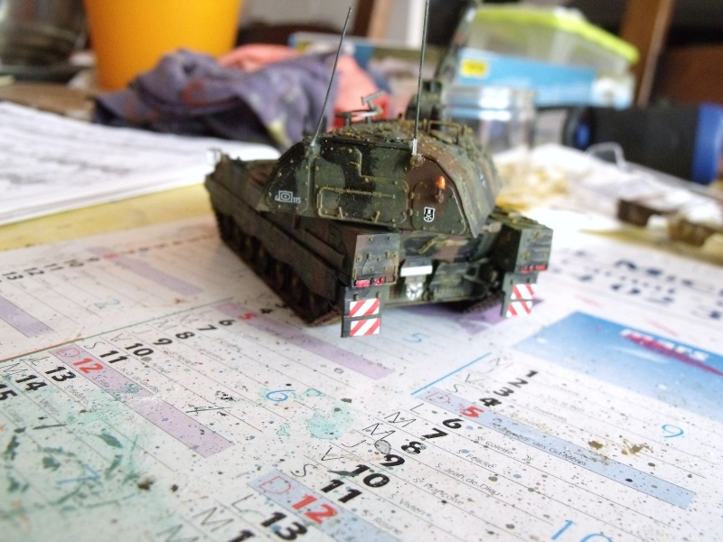 """SLT50-3 """" ELEFANT """" ET Sa aNH.52 T , avec le Panzerhaubitze 2000 et le Fennek REVELL 1/72 - Page 2 Dscf1615"""