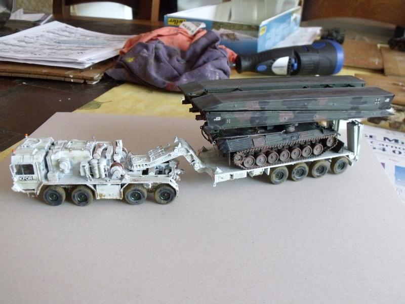 """REVELL 1/72 SLT50-3 """" ELEFANT """" ET Sa aNH.52 T , avec le Panzerhaubitze 2000 et le Fennek dans la même boite - Page 3 Dscf1619"""