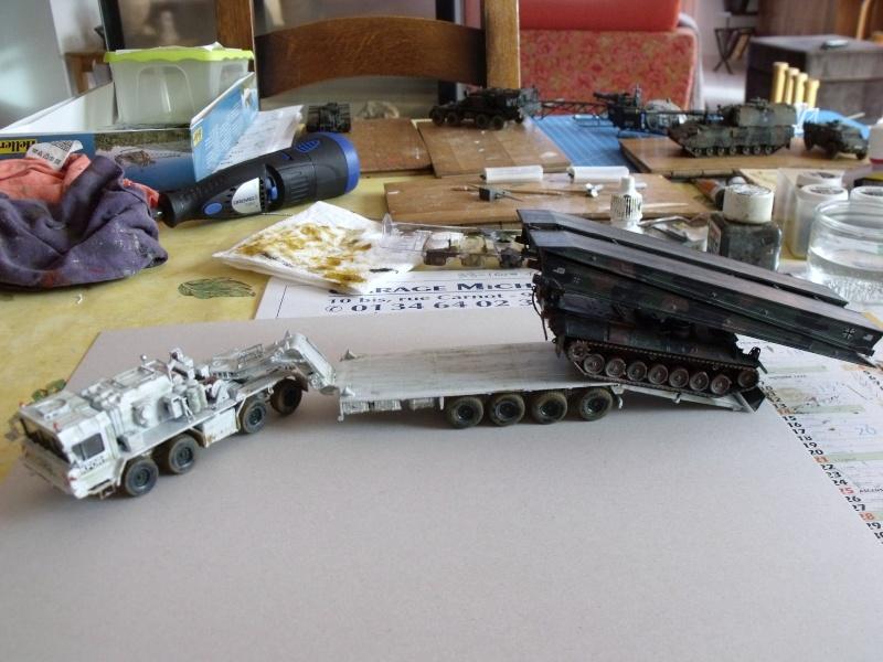 """SLT50-3 """" ELEFANT """" ET Sa aNH.52 T , avec le Panzerhaubitze 2000 et le Fennek REVELL 1/72 - Page 2 Dscf1621"""