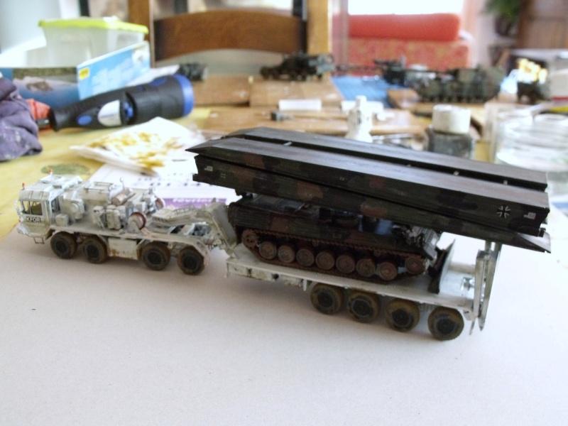 """SLT50-3 """" ELEFANT """" ET Sa aNH.52 T , avec le Panzerhaubitze 2000 et le Fennek REVELL 1/72 - Page 2 Dscf1626"""
