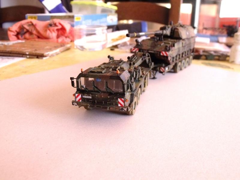 """SLT50-3 """" ELEFANT """" ET Sa aNH.52 T , avec le Panzerhaubitze 2000 et le Fennek REVELL 1/72 - Page 2 Dscf1629"""