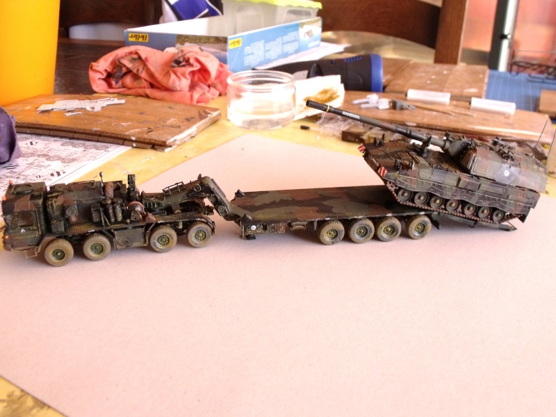 """SLT50-3 """" ELEFANT """" ET Sa aNH.52 T , avec le Panzerhaubitze 2000 et le Fennek REVELL 1/72 - Page 2 Dscf1630"""