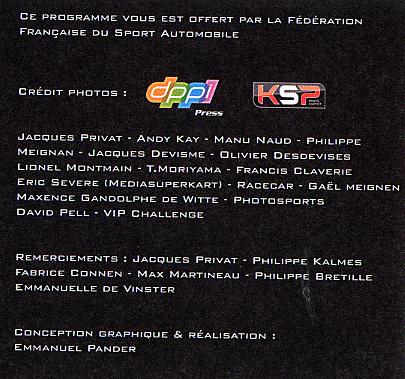 2009 - Les trophées 2009 du Sport Automobile, par la FFSA Champ-13