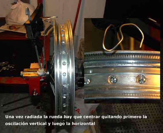 Pasar rueda trasera 16 a 18 Foto410