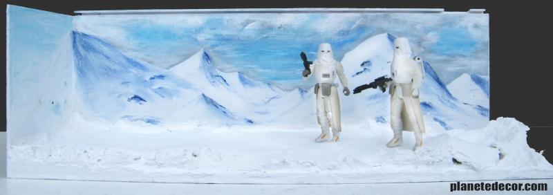mes decors pour figurines starwars new décor Hasbro podracer Effet_10