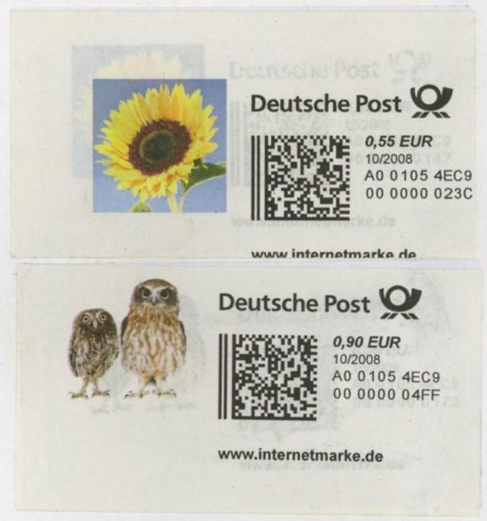 Internetmarken aus Deutschland 0001110