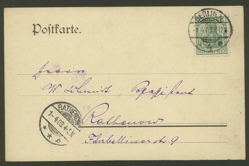 Germania-Frankaturen 0113