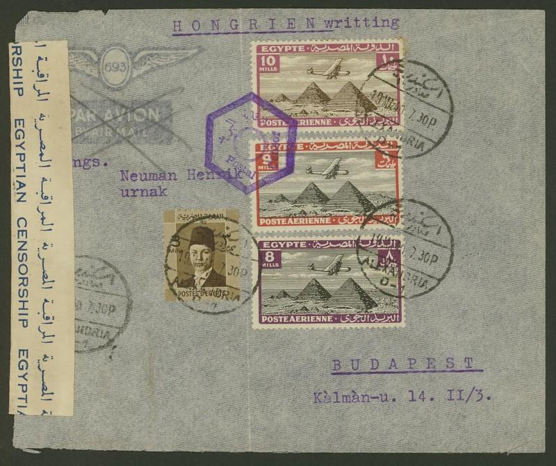 Ägypten  -  Briefe und andere Poststücke 0115