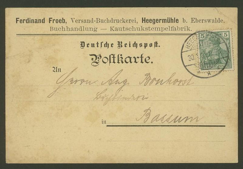 Germania-Frankaturen 0312