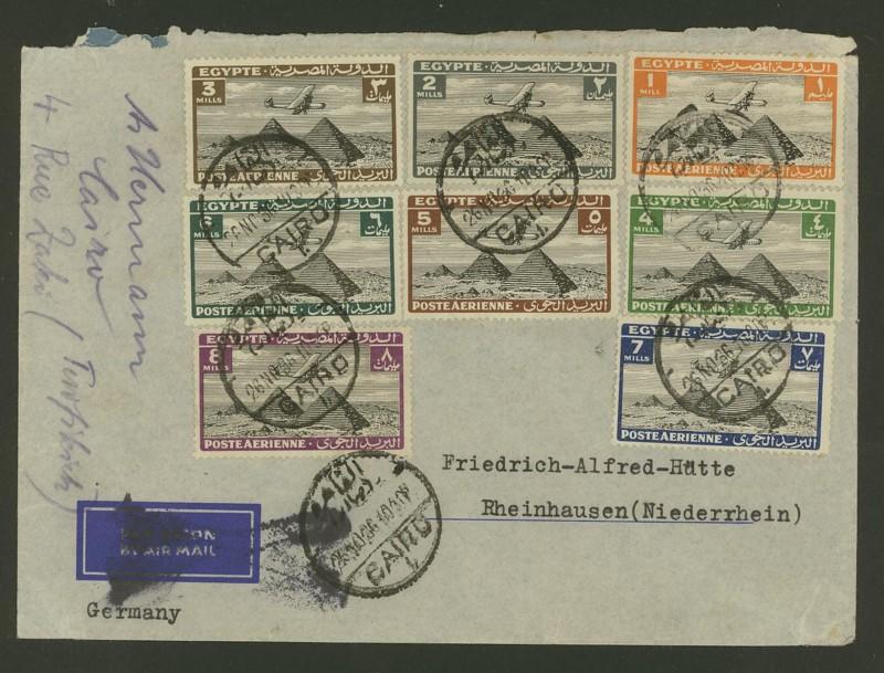 Ägypten  -  Briefe und andere Poststücke 0314