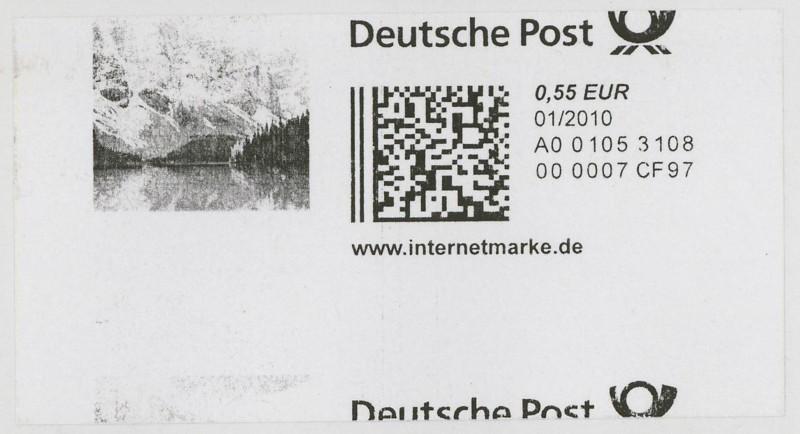 Internetmarken aus Deutschland 0315
