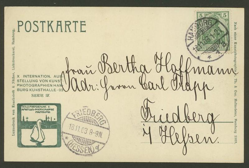 Germania-Frankaturen 0512