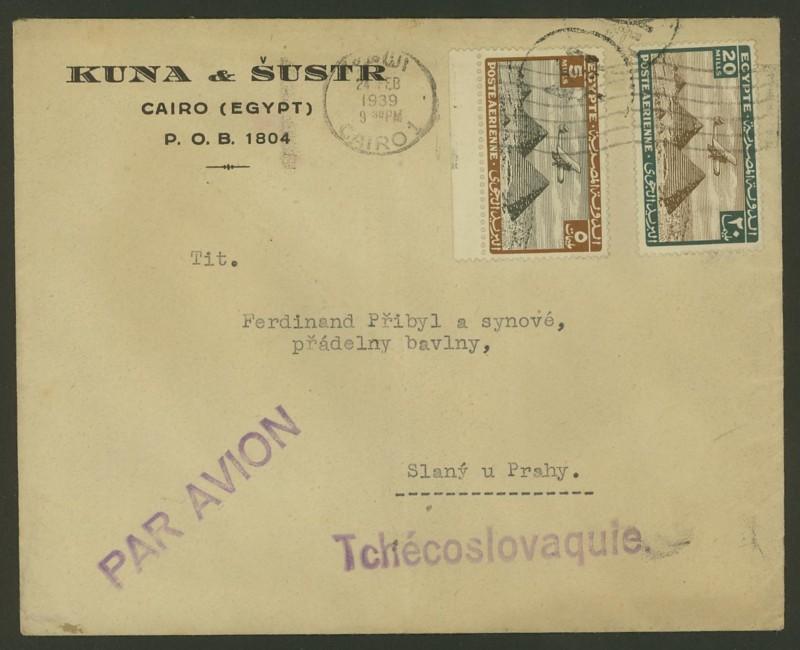 Ägypten  -  Briefe und andere Poststücke 0514