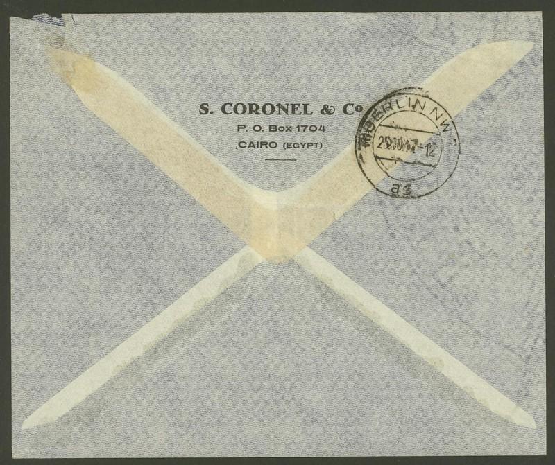 Ägypten  -  Briefe und andere Poststücke 06_10