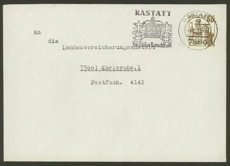 Bundesrepublik Deutschland  -  Einzel- und Mehrfachfrankaturen 0917_a10