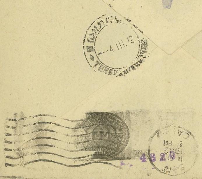 Ägypten  -  Briefe und andere Poststücke 09_10