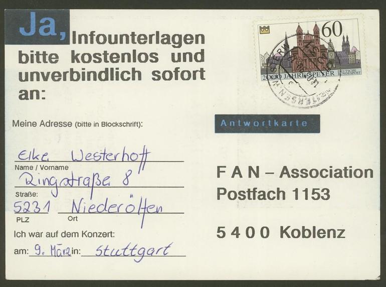 Bundesrepublik Deutschland  -  Einzel- und Mehrfachfrankaturen 144410