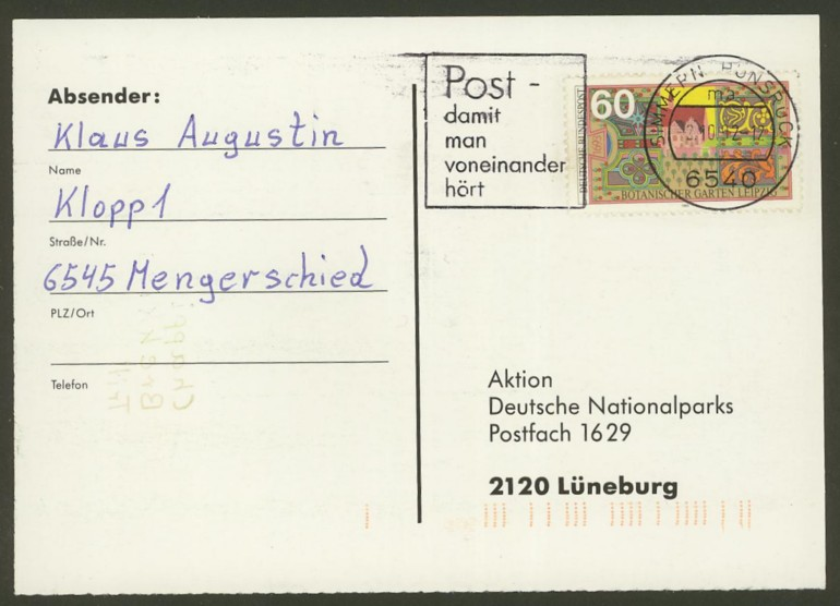 Bundesrepublik Deutschland  -  Einzel- und Mehrfachfrankaturen 162210