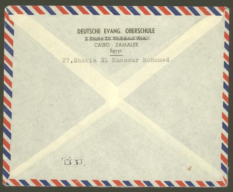Ägypten  -  Briefe und andere Poststücke 16_10