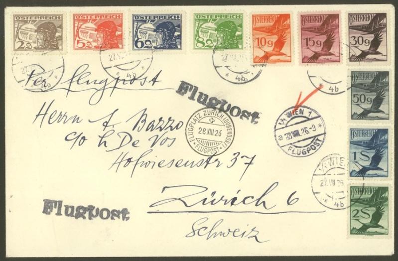 Ältere Flugpost aus Wien 2000210