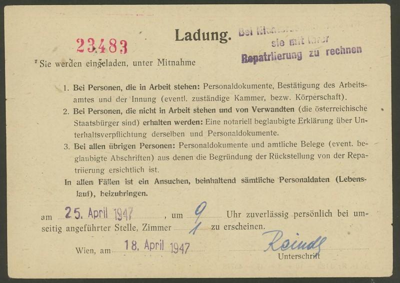 Verwendung von Portomarken in Österreich Ank_1911