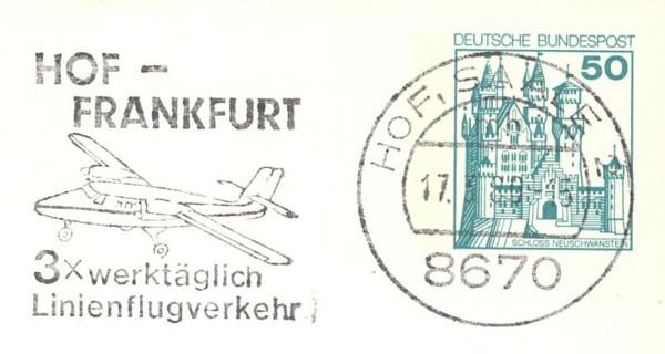 """""""AERO"""" im Stempel Hof-fr10"""