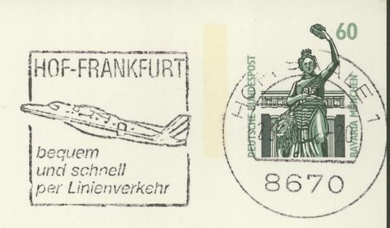 """""""AERO"""" im Stempel Hof-fr11"""