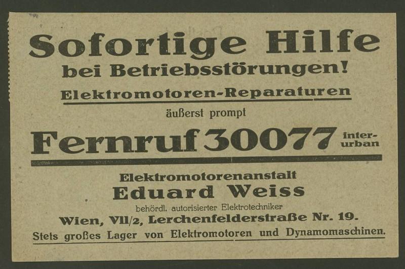 Ältere Briefe von Österreich  -  nett anzuschauen Werbek11