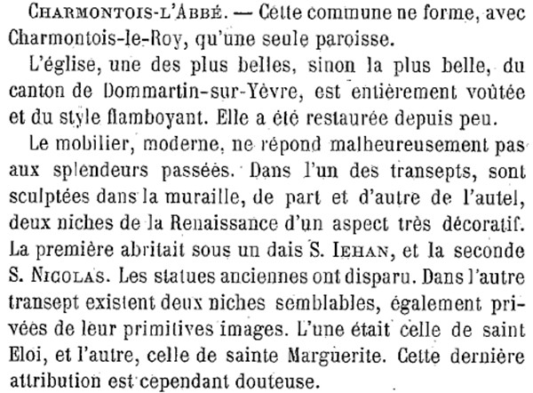 CHARMONTOIS-l'ABBE / CHARMONTOIS-le-ROY Charmo10