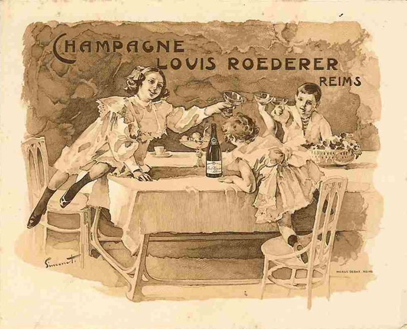 Les Maisons de Champagne : ROEDERER Menu_r10