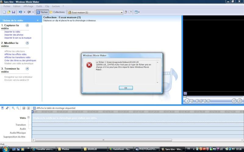 Travailler une vidéo avec FZ38 Video_10