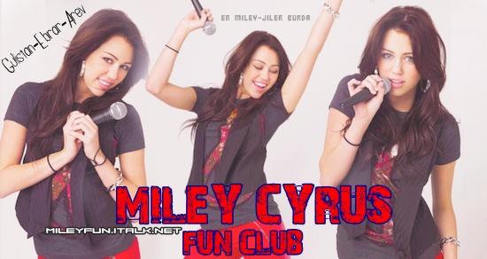 Miley Cyrus Turkey Fun Club