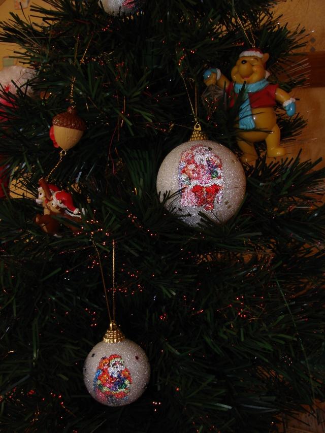 Vos décorations de Noël  Dsc00010
