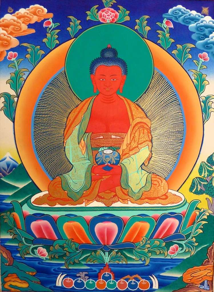 amitabha - Prières quotidiennes, pour renaître en Terre Pure d'Amitabha Amitha10