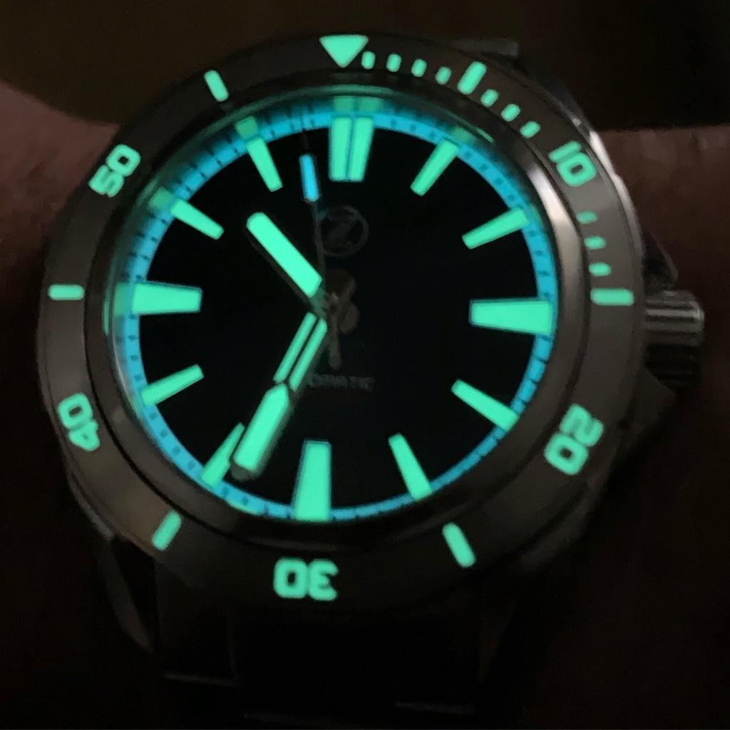 montre ZELOS SWORDFISH V2 300M DIVER Helicale blue 04920410