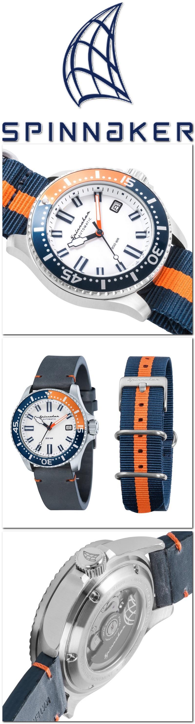 Les montres Spinnaker de Dartmouth Brands / Solar time limited – Hong Kong. 2018-012