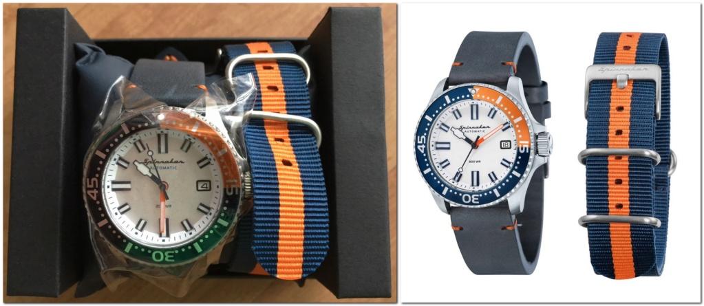 Les montres Spinnaker de Dartmouth Brands / Solar time limited – Hong Kong. 2018-013