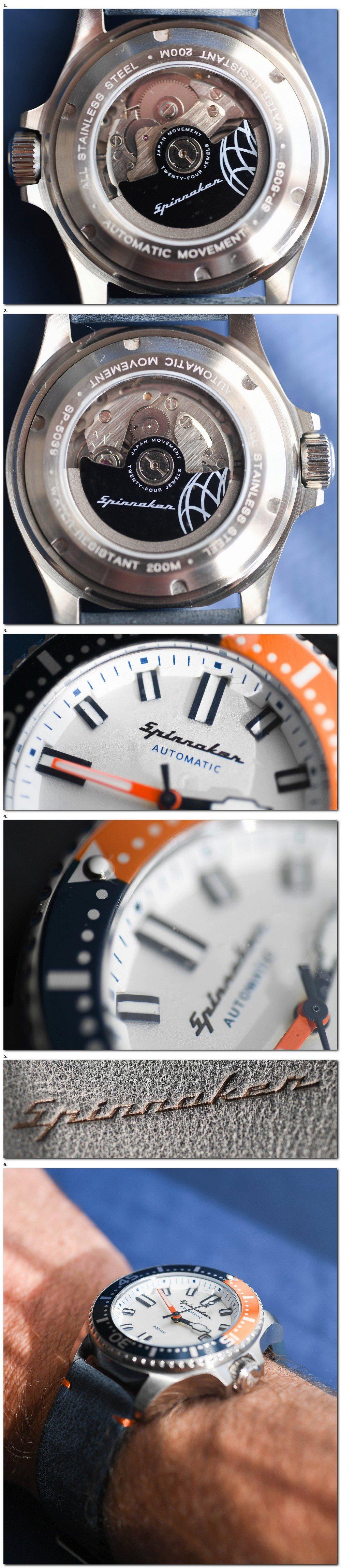 Les montres Spinnaker de Dartmouth Brands / Solar time limited – Hong Kong. 2018-015