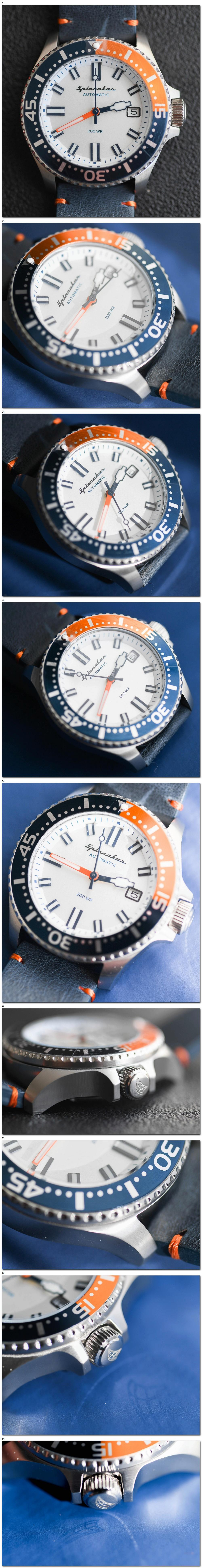 Les montres Spinnaker de Dartmouth Brands / Solar time limited – Hong Kong. 2018-016