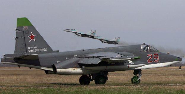 """L'étoile rouge"" aujourd'hui ? Su-25s10"