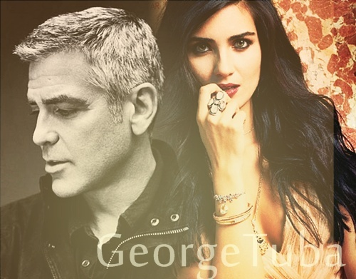 George Clooney and Tuba Buyukustun photshopped pictures - Page 4 10395510