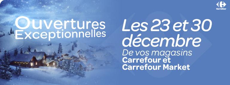 Les magasins ouverts ce dimanche 23 décembre 2012 et dimanche 30 Ouvert10