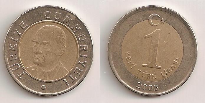Nueva lira turca de 2005. (Yeni Türk Lirası) 112