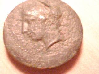 Hemilitron acuñado en Akragas 400-380 a.C. Anv15