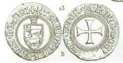 Blanca de vellón del condado de Bearn - Catalina (1483-1516). Bearn10