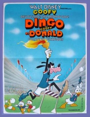 [Walt Disney] Dingo alias Goofy et Donald Champions Olympiques (1972) V_aff_10